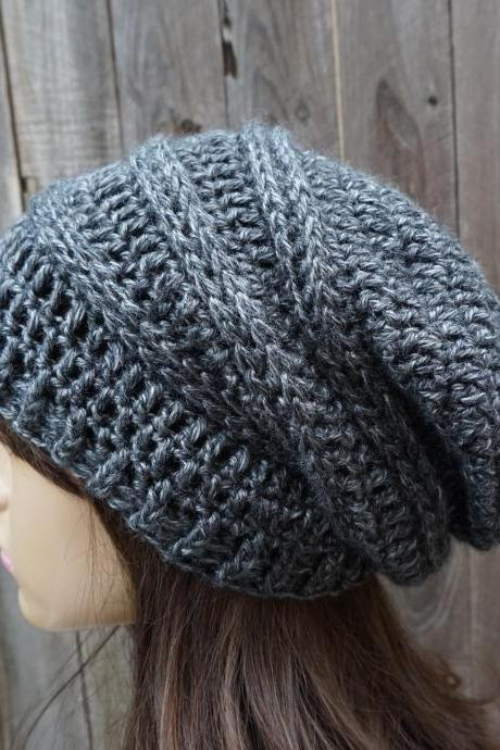 Crochet Hat - Slouchy Hat Winter Accessories Autumn Accessories Fall Fashion