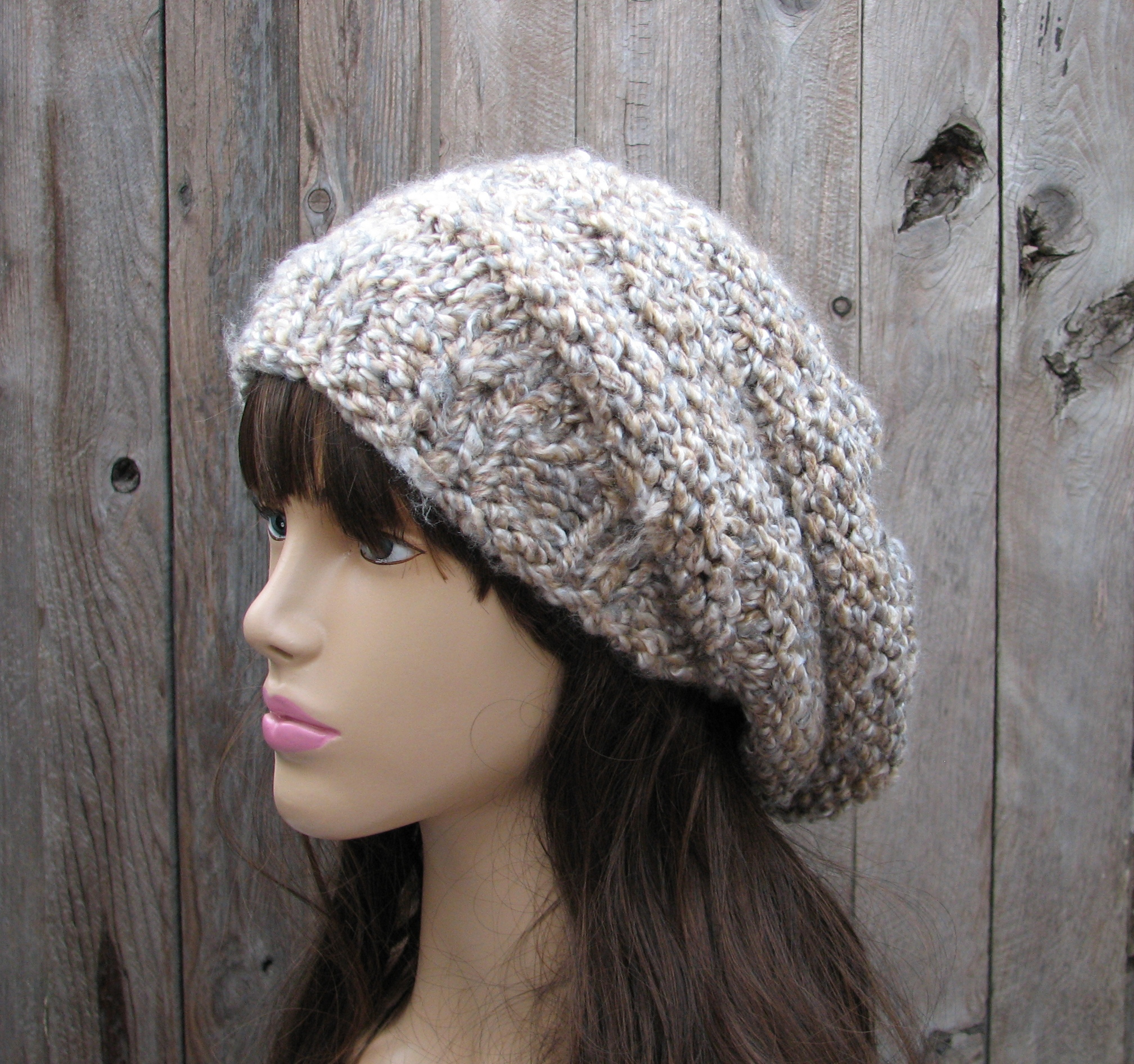 bbb40278cc4 Crochet Hat - Slouchy Hat -Multicolored - Winter Accessories Autumn  Accessories Fall Fashion on Luulla